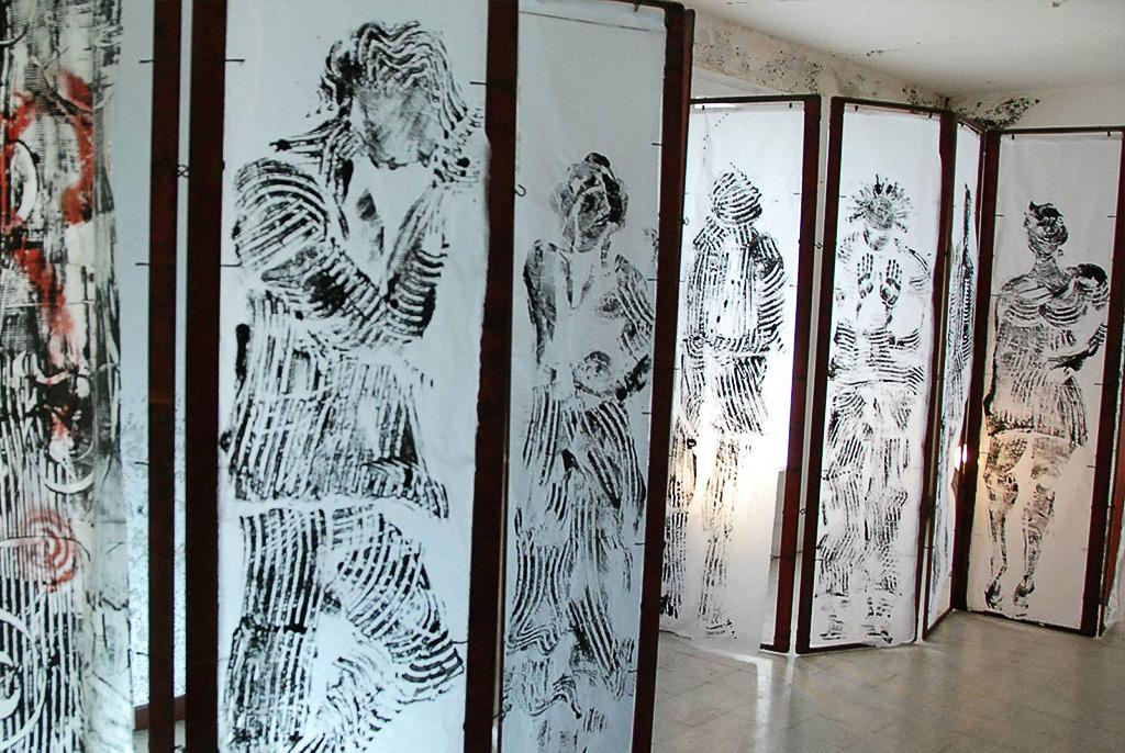 Florence Gosset Garte à vue Installation